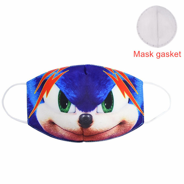 Hot Sale 2020 MEZMER Cartoon Maska Dustproof Mouth Face Mask Kid Cartoon Cover Fashion Muffle Face Mouth Masks for Children Game 4