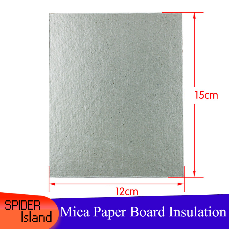 Microwave Mica Board Thickened Heat Insulation Board High Temperature Resistant Insulation Paper 12 * 15cm