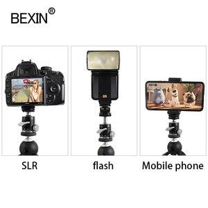 Image 2 - Głowica statywu mini głowica kulowa głowica panoramiczna strzelaj aparat fotograficzny stojak adapter monopod głowica mout z podstawą gorącej stopki do lustrzanka cyfrowa