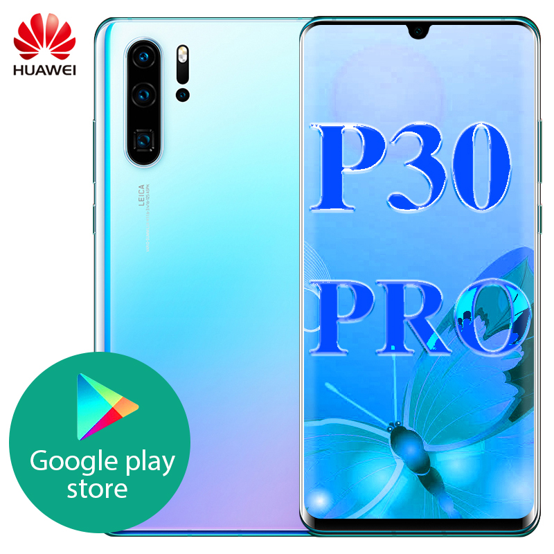 Original Huawei P30 Pro 8GB 128GB Mobile Phone 6.47 inch OLED in screen Kirin 980 Octa Core Android 9.0 NFC 4200mAh|Cellphones| - AliExpress