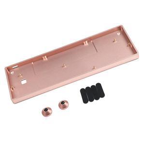 Image 1 - Funda de aluminio anodizado para teclado mecánico para jugar, GH60, venta al por mayor, Compatible con GK61x GK64x Pok3r, 60%