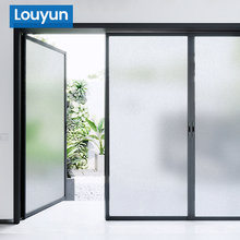 3M/6M Frosted Opaque Window Film For Privacy Protection Pure Color Adsorption Glass Stickers Living Room Bedroom Home Decoration