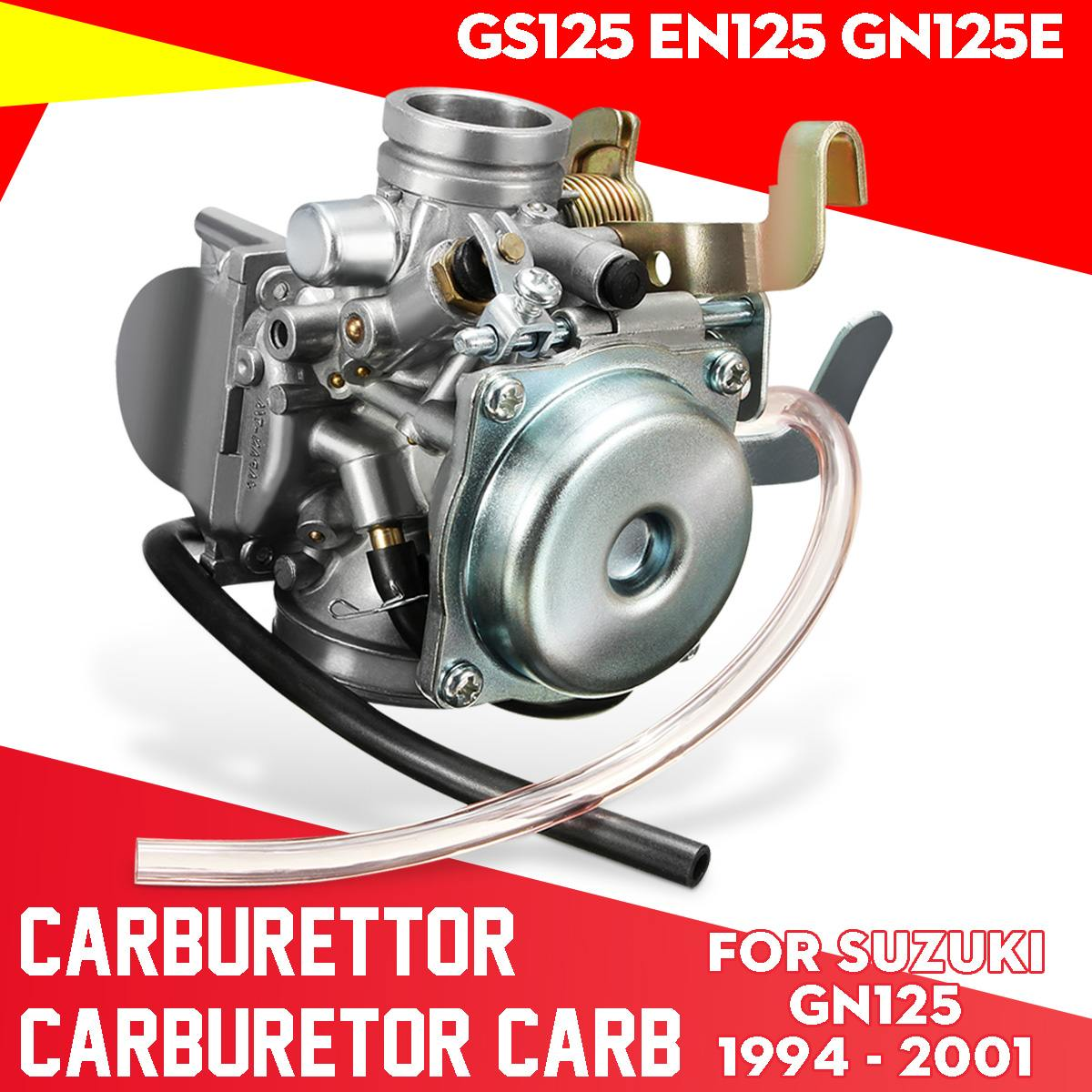 Motorcycle Carburettor Carburetor Carb For Suzuki GN125 1994 - 2001 GS125 EN125 GN125E image