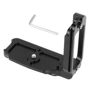 Image 4 - Placa de liberación rápida para cámara Nikon D850 aleación de aluminio soporte profesional Carga rápida L, piezas de repuesto para fotografía