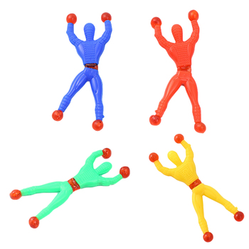 10PCS Climbing Man Fidget Toys Decompression Toy Pop Antistress Suit Safe Educational Gameplay Relaxation Toy Simple Dimple Pack image