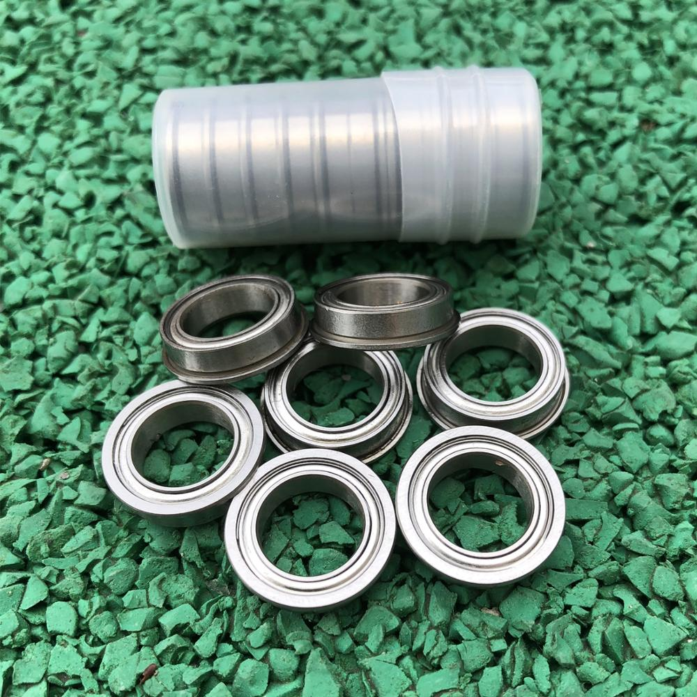 20pcs Flanged Ball Bearings SF6700ZZ SF6701ZZ SF6702ZZ Shielded Flange Stainless Steel 440C Thin Wall Deep Groove Ball Bearings