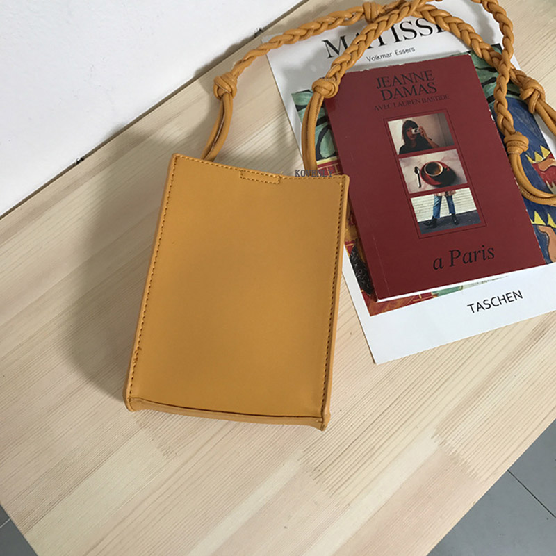 sacos moda inclinado bolsa do telefone do vintage mensageiro pacote