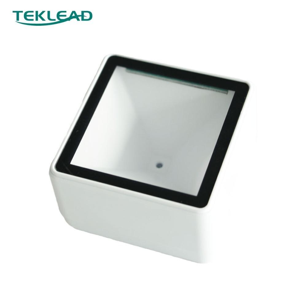TEKLEAD USB сканер штрих-кода 2D мини qr-код считыватель автоматический модуль сканирования для Мобильных Платежей самообслуживания кино билет ма...