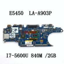 Mainboard Latitude I7-5600U LA-A903P Dell FOR E5450 Laptop Zam71/La-a903p/Cn-017fg2/..