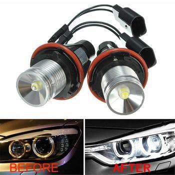 цена на 6000K Angel Eyes Halo 20W CREE LED Ring Marker Bulbs For BMW X5 E39 E60 E63 E61
