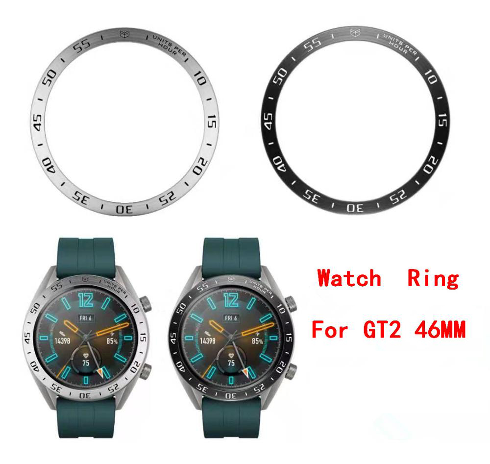 Bezel Ring Styling For Huawei GT2 46mm Smart Bracelet 46mm Bezel Ring Case Protection Cover For Huawei GT 2 46
