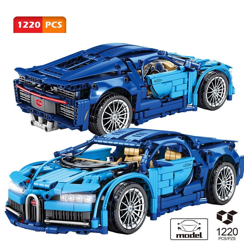 Конструктор SEMBO Citys Technic, спортивный автомобиль, конструктор, суперавтомобили, гоночный автомобиль, модель MOC, игрушки, кирпичи, подарки для м...