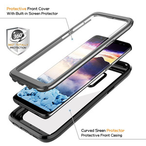 Image 2 - Противоударный чехол для Samsung Galaxy S8 S9 S10 S20 Plus S10 + A90 5G Note 9 10 20 10plus S10E, защитный чехол на весь корпус