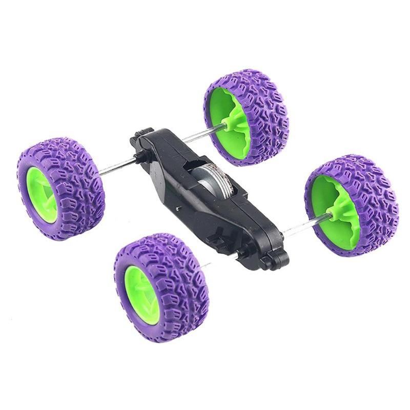 Inertia Roll Over Car Materials Creative DIY Science Experiment Model Kit Vehicle Projects Teaching Educational Equipment