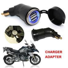 شاحن الدراجة النارية المزدوج USB الهاتف MP4 لتحديد المواقع اللوحي لسيارات BMW R1200GS R1200RT F800 GS F800GS F650GS F700GS F650 GS R 1200 RT ADV