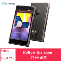 NEW SHANLING M6 Pro Music Player MP3 player Bluetooth Balanced Output HiFi Sound Quality Portable MP3 Player For Phones