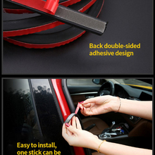 3M Car Decoration Sealing Strip Z L B P Big-D small-D Shape Rubber Noise Insulation Edge Trim