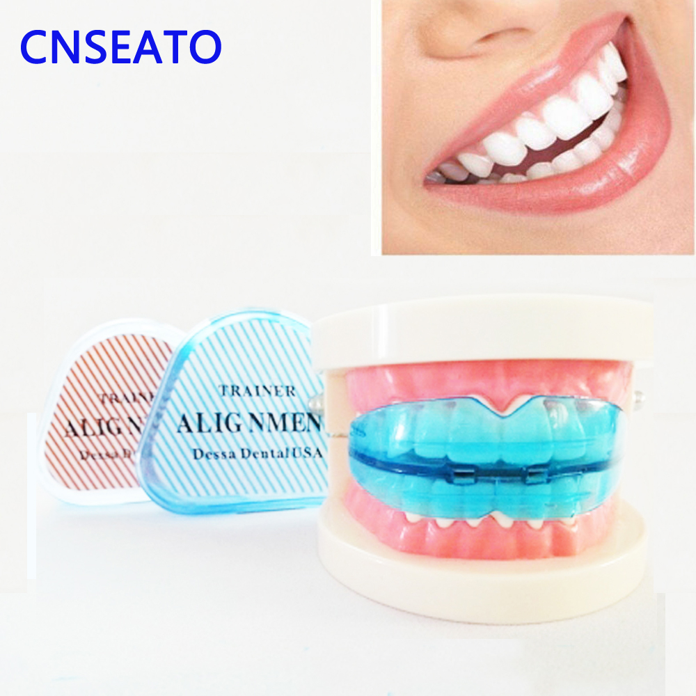1 Pcs Dental Teeth Orthodontic Retainer Appliance Teeth Trainer Braces Mouthpieces (Hard & Soft)  Teeth Retainer Straightener