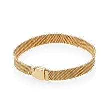 цена 100% 925 Sterling Silver New 567712 SHINE REFLEXIONS BRACELET Original Charm Fashion Jewelry Charming Women Gift онлайн в 2017 году