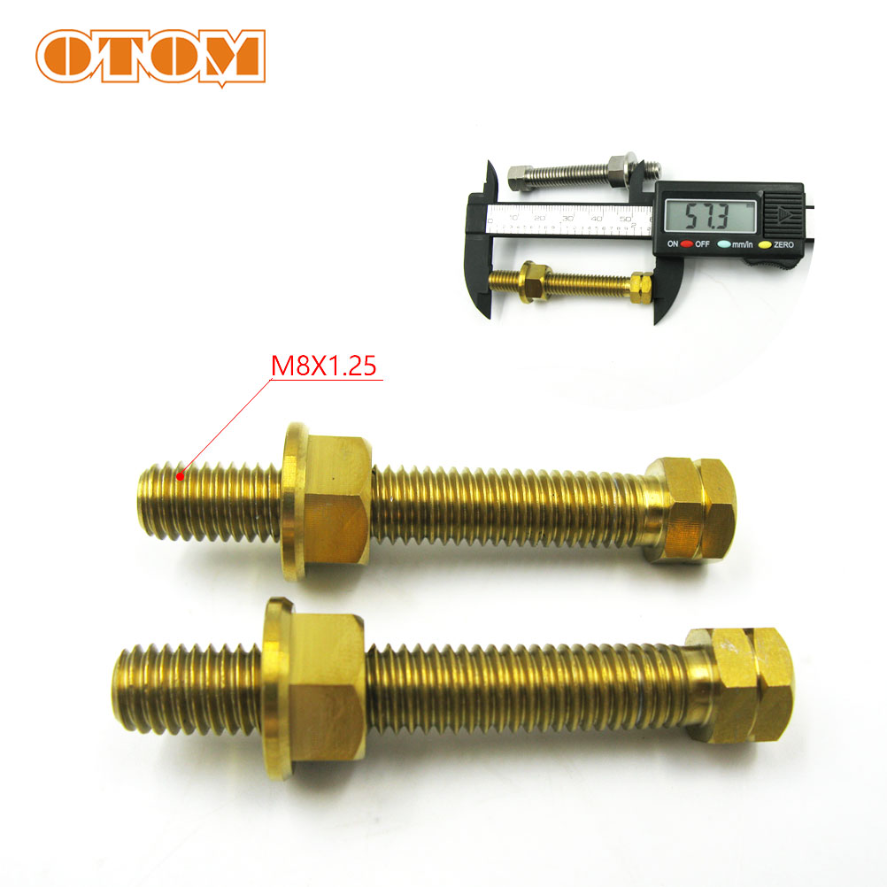 Steering damper TL1000S 97-01 TITANIUM M8 x 1.25mm FLANGE dome nut