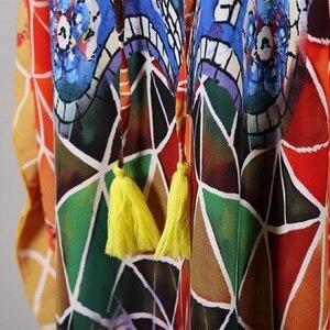 Image 5 - PlusขนาดBeach Maxi Dress Cover Upชุดว่ายน้ำSalida De Playa Kaftan Beachชุดว่ายน้ำCover Up Playeros