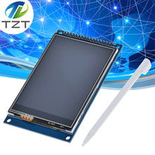 Tzt 3.2 polegada tft lcd tela de toque módulo display ultra hd 320x240 ili9341 para arduino 3.2 ''320240 240x320 240320 2560 diy