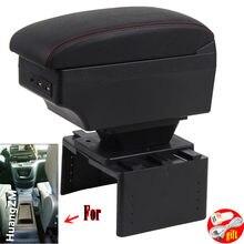 Für peugeot rifter Armlehne box Innen Teile spezielle Retrofit teile Auto Armlehne Zentrum Speicher box mit USB LED licht