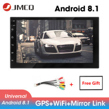 JMCQ 7 Car Radio 2 din Android 8.1 Universal player GPS Navigaion Multimedia Video Player Stereo for Ford Focus 2 Nissan Toyota
