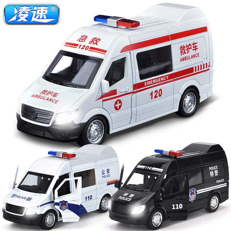 Ling speed Acousto optic сплав Полицейская машина скорой помощи SWAT Автомобили 1:64 литье под давлением металлический сплав модель металлический автомобиль подарок на день рождения мальчик игрушки|Наземный транспорт| | АлиЭкспресс