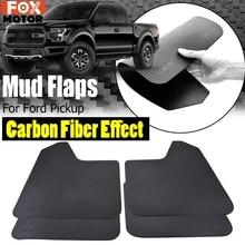 4x Paraspruzzi Mud Flaps Paraspruzzi Parafango Per Ford F150 F 150 F250 Raptor Ranger T6 T7 XLT PX Wildtrak Everest mazda BT 50