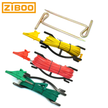 ZIBOO UT-L35 Ground Test Kit with Earth Nail,Use for Earth Ground Resistance Tester,Earth Ground Testing,with 4mm Banana Plug.