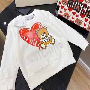 Cartoon Bear parent-child long sleeve T-shirt children 4-9 years old adult m-5xl family outfit matching family outfit matching