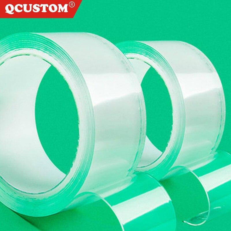 Double-Sided-Tape Clear Transparent Nano Magic- Mascherine Waterproof Super No-Trace Reuse Auto Parts Glue Gadget Sticker Disks
