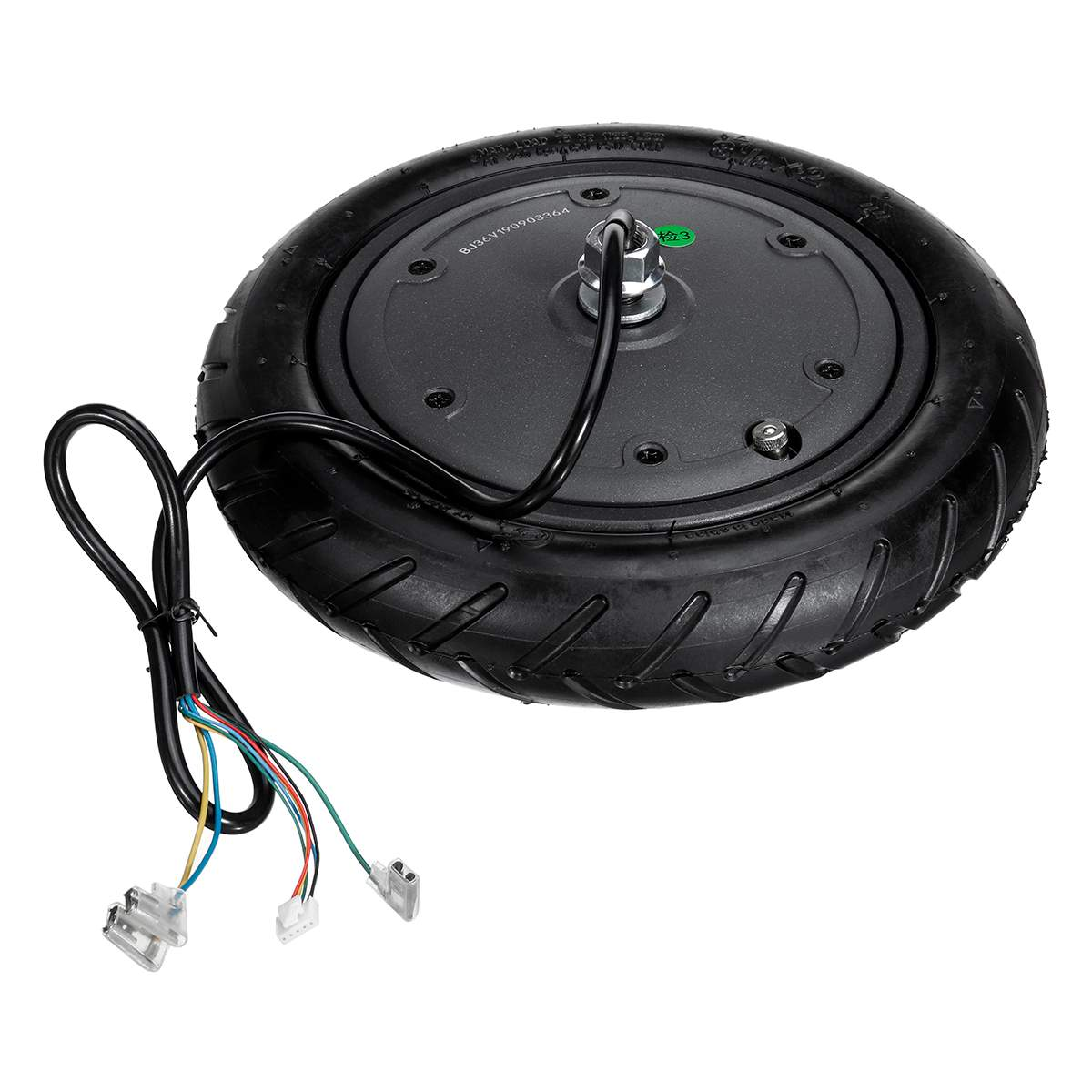 350W Replacement Electric Scooter Wheel Motor Explosion Proof Wheel Tire for Xiaomi M365 Electric Scooter Parts