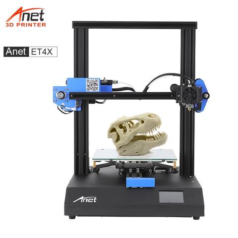 nova anet et4 x impressora 3d com fora do filamento lembrando curriculo impressao rapida mesa