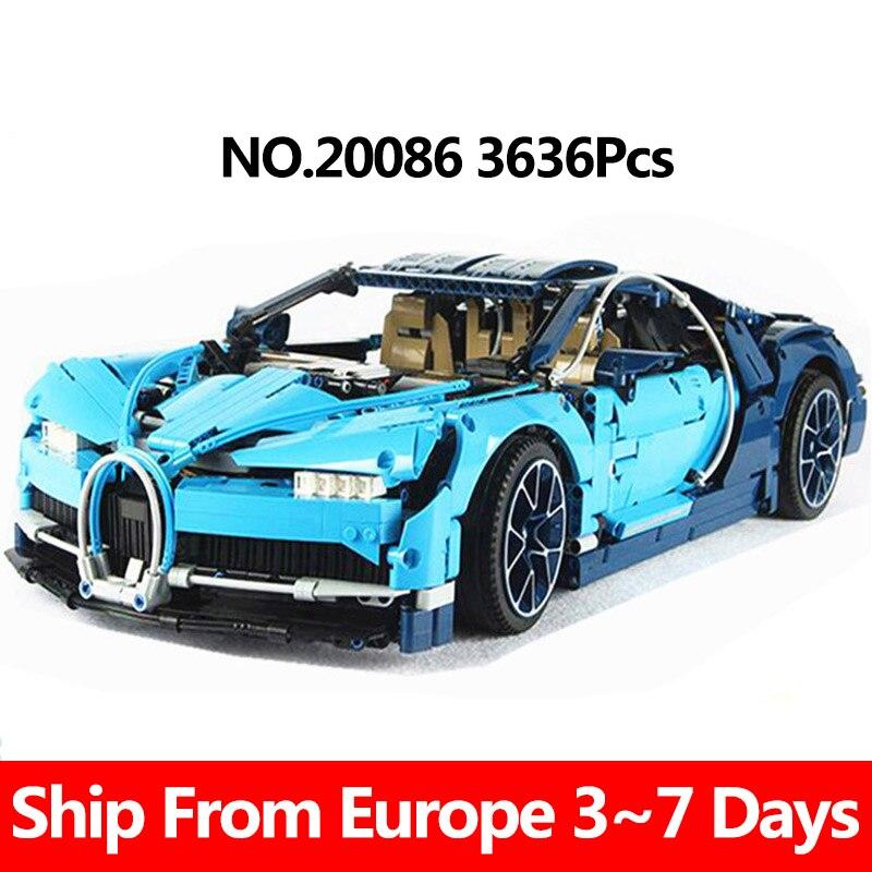 Bugatti Chirion z klocków z Polski za $90.44 / ~334zł