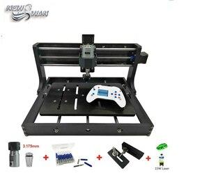 Бесплатная доставка CNC 3020 мини настольный лазерный гравер GRBL DIY Дерево CNC3020 фрезерный станок гравировальный станок деревянный акриловый из ...