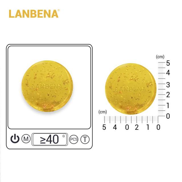 LANBENA Handmade Soap Hyaluronic Acid Face Cleaning Moisturizing Removal Pimple Pore Acne Treatment Repair Whitening CleanerTSFH 3