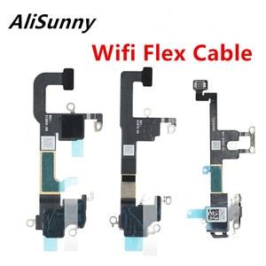 Image 1 - AliSunny 10 шт. Wifi GPS гибкий кабель для iPhone XS Max XR XSM Wi Fi антенна Приемник сигнала ленты запасные части