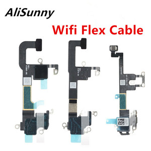 Image 1 - AliSunny 10pcs Wifi GPS Flex Cable for iPhone XS Max XR XSM Wi Fi Antenna Signal Receiver Ribbon Replacement Parts