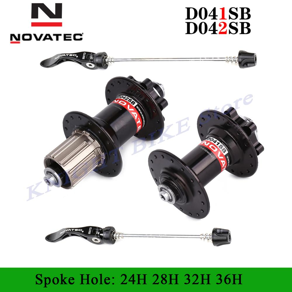 Novatec <font><b>hub</b></font> D041SB D042SB disc card brake MTB mountain bike <font><b>hub</b></font> bearing <font><b>bicycle</b></font> <font><b>hubs</b></font> 24 <font><b>28</b></font> 32 36 <font><b>Holes</b></font> 24h 28h 32h 36h 5 colors image