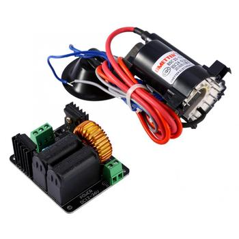 High Voltage ZVS Tesla Coil Driver Board + Ignition Coil Flyback Driver for Sgtc /Marx Generator/jacob's Ladder 12-36V new tesla coil high power generator of high voltage with tesla commonly used coil motherboard pipe