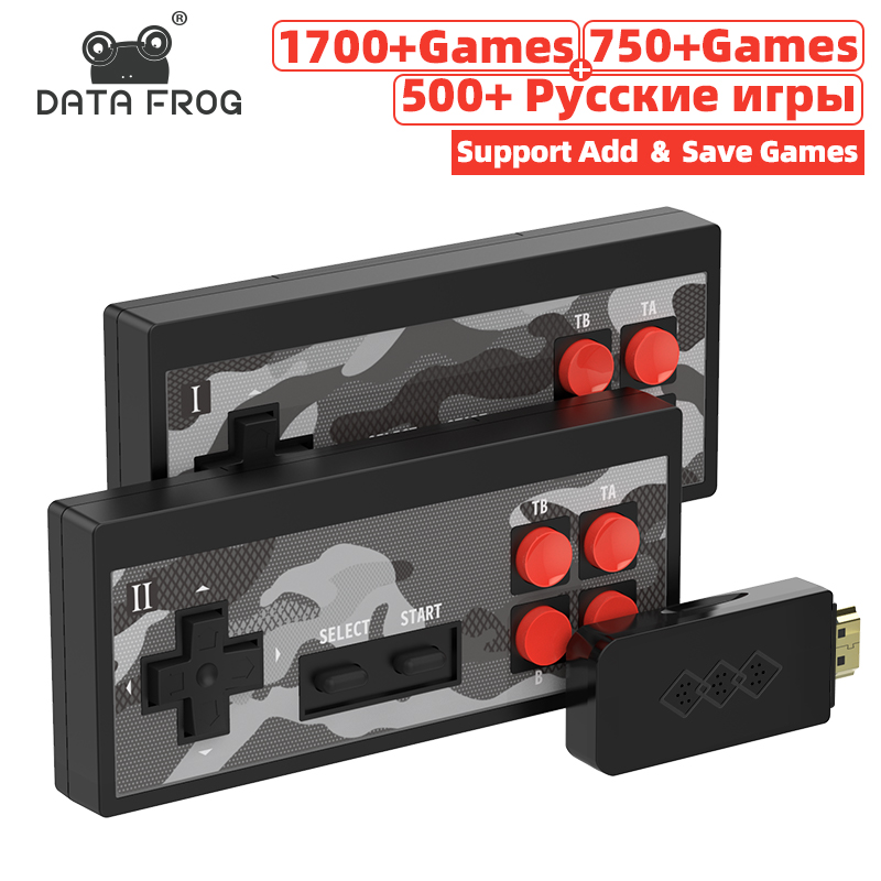 RETROMAX Video Game Console Retro Game Build-in 1700+ NES Games Mini Console AV/HD OUT For TV Plug And Play Dandy Game Console