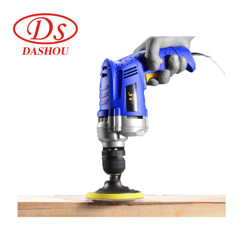 DS High Power Aluminum Head Electric Drill Multi function Hand held Drill Stepless Speed Control Power Drill Tool 220V 1PC in Electric Drills from Tools