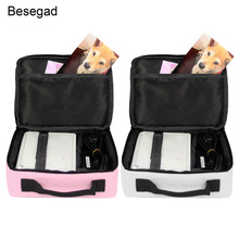 Besegad 유니버설 캐리 스토리지 프로텍터 가방 보호 핸드백 케이스 캐논 Selphy CP1200 CP910 HITI Prinhome 포토 프린터