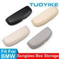 Автомобильный футляр для очков держатель для хранения чехол для солнцезащитных очков для BMW серий 3/5/7 X1 F48 X3 X4 F25 F26 G01 X5 X6 F15 F16 F20 F30 G20 F10 F01