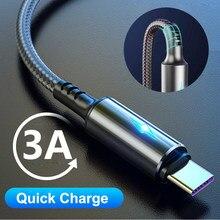 RUZOFO 3A USB Typ C Kabel Schnelle Lade Draht für Samsung Galaxy S8 S9 Plus Xiaomi mi9 Huawei Handy USB C Ladegerät Kabel