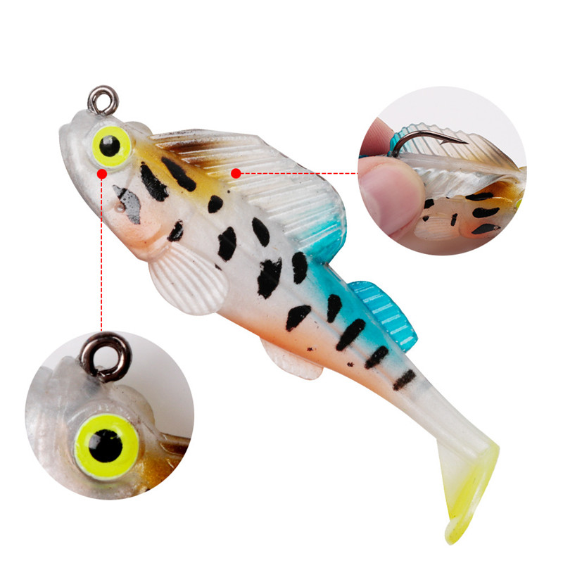 Fishing Lure Hunthouse Bait Soft Lead Jig Dark Dream Swimbaits Soft Lure Fishing Pike Bass Lure