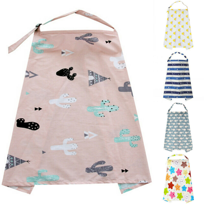 Fashion Mommy Apron Infant  Baby Infant Shawl Scarf Apron Cotton Mum Shawl Clothes Blanket Cover Mom Nursing CoverBreastfeeding