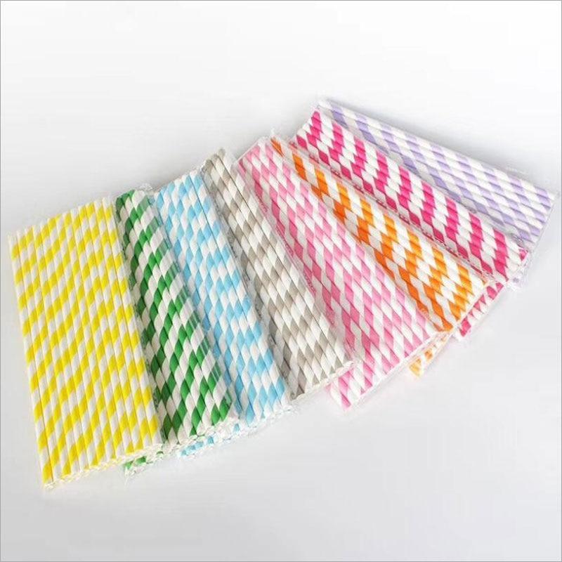 25pcs/set Girl Birthday Decoration Valentines Straw Drinking Paper Straws Bachelor Party Children Birthday Wedding Straws